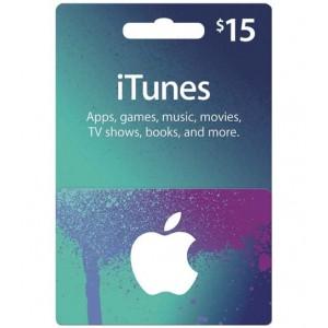 15美元美国苹果手机苹果商店APP STORE iTunes Apple gift card 礼品卡兑换码100%不封号 美国iTunes礼品卡